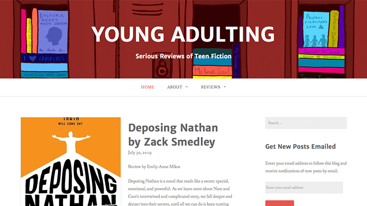 Young Adulting online magazine